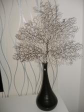 dnešní úlovek - dekorace do vázy, vypadá to krásně :-)