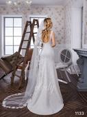 svatební šaty S/M - Elody, 38