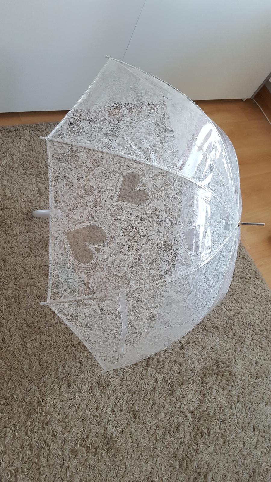 svatební deštník - Obrázek č. 1