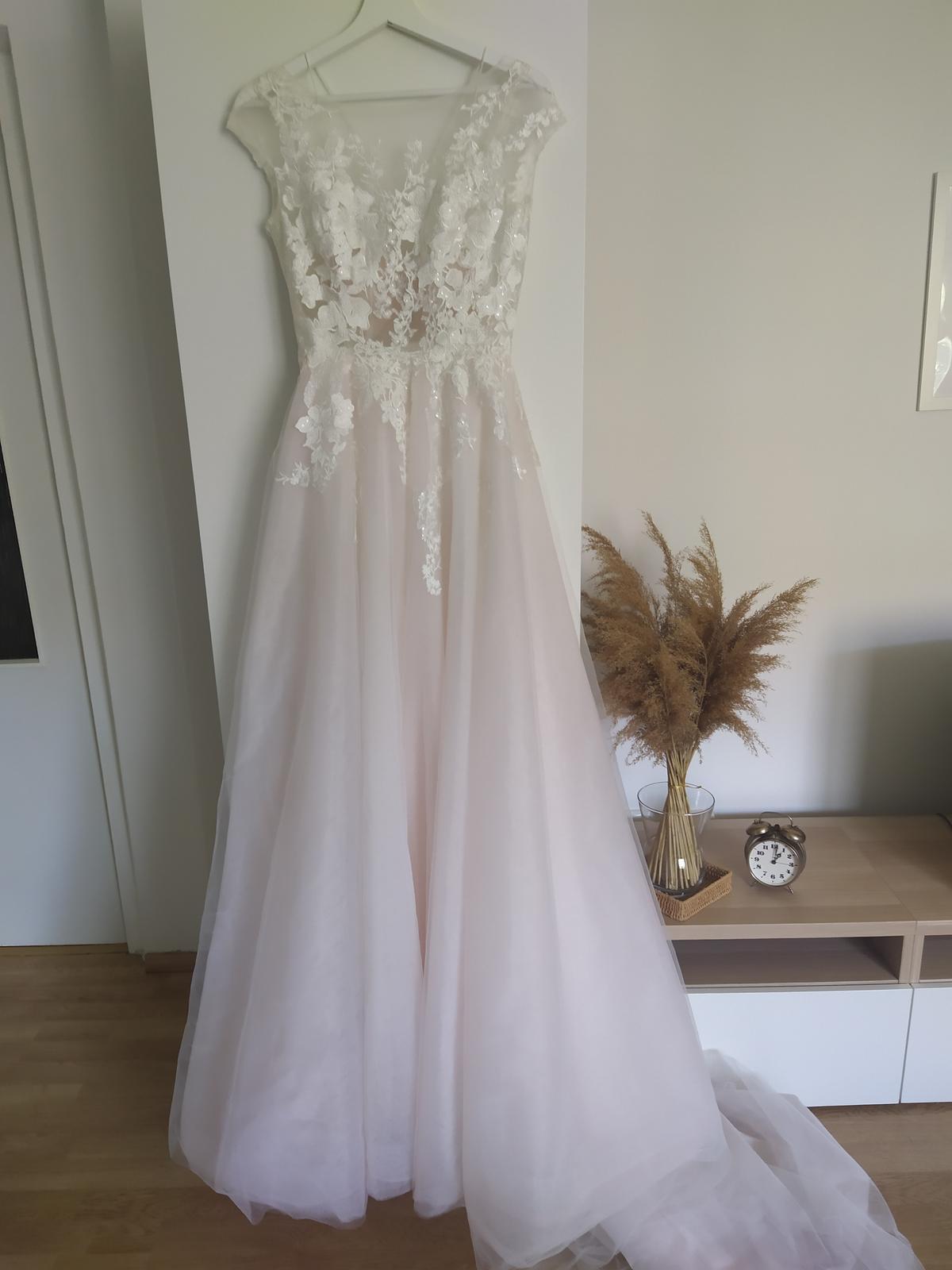 Svadobné šaty Daria Karlozi 34-36 - Obrázok č. 1