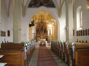 takto sme mali vyzdobený kostol
