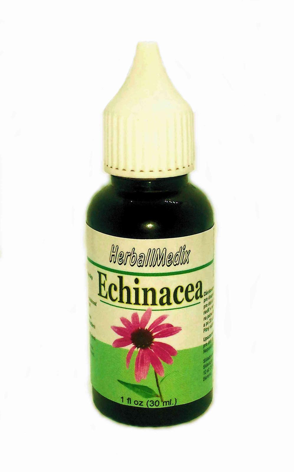 Echinacea purpurova - tinktura 30ml - Obrázok č. 1
