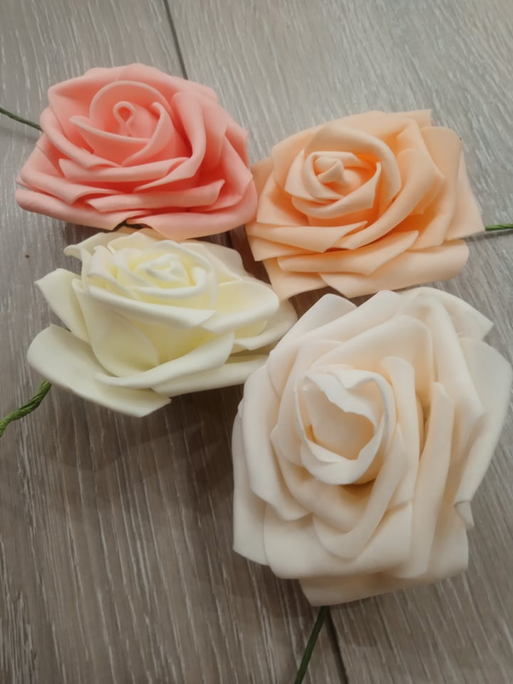 Penové ruže - Obrázok č. 1