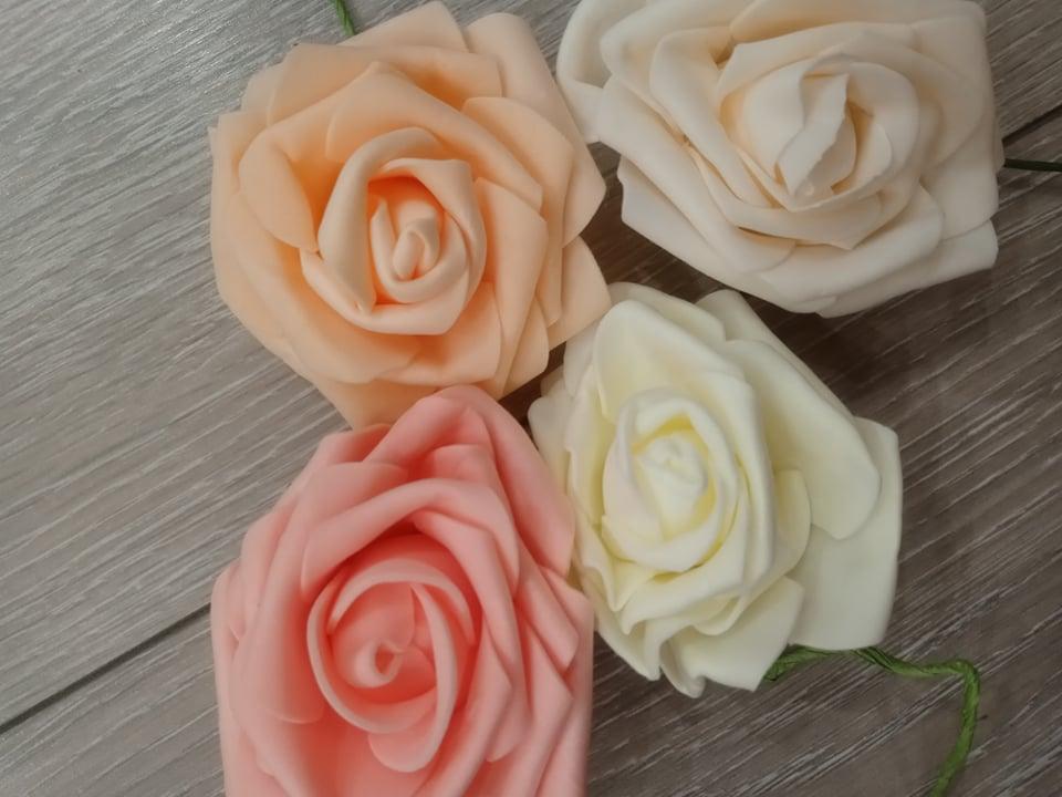 Penové ruže - Obrázok č. 2