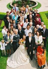 Almost ALL wedding guests, some of them have already disappeared :-)