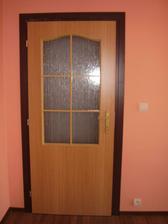 Dvere do spálne