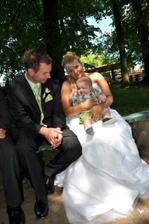 S nejmledším svatebčánkem Danečkem...