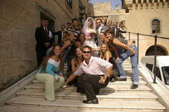 S tanecnou skupinou New Face z Prievidze