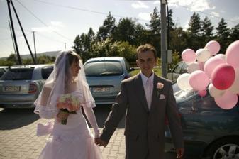 Prichod na svadobnu hostinu