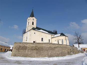 """Marki 24092005 - kostel sv. Jiljí v Mrákotíně, tady si řekneme """"ANO"""""""