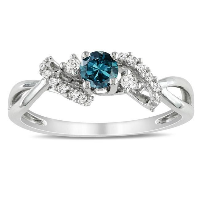 Niečo pre inšpiráciu pre budúce nevestičky... - snubný prsteň