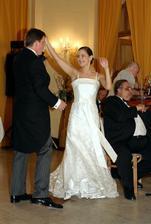 prvy tanec, choreografia pan Mrva ;)