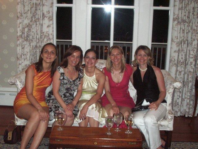 Druha svadbobna party - herecky slovenky - moje kamosky, dve ziju z NY a dve prileteli na nasu party ;)