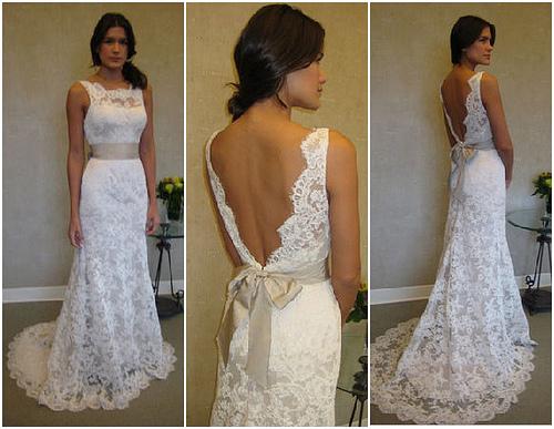 Lace Wedding Decorations & Details - Obrázok č. 86