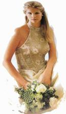 Podobné šaty budu mít a ta kytička mě taky inspirovala