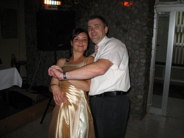 Maťka a Peťo 16.2.2008 - na svadbe...