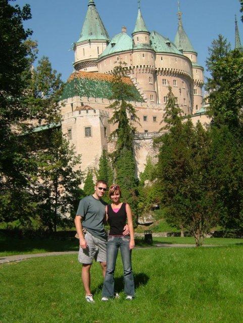 Maťka a Peťo 16.2.2008 -  na výlete