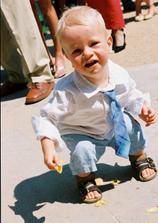 Nejmenší účastník svatby - Ondry