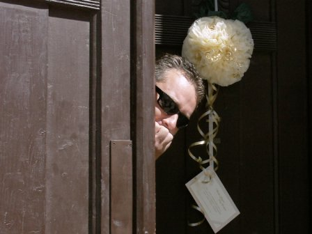Moja svadba od A po Z - vyzdoba na dvere