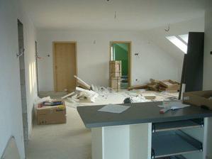kuchyňo-obývačka
