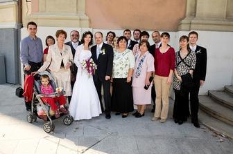 Rodina z nevestinej strany