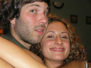 moja sestrička Evička s priateľom