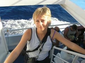 výleť loďou na ostrov Simy
