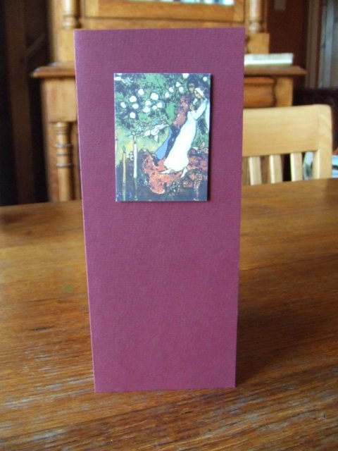 "Edita & Osian - Motiv vypujcen od malire Marca Chagalla ""Tri svice"""