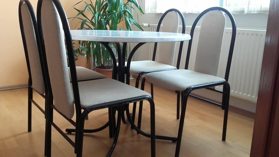 stol+4 stolicky  - Obrázok č. 1