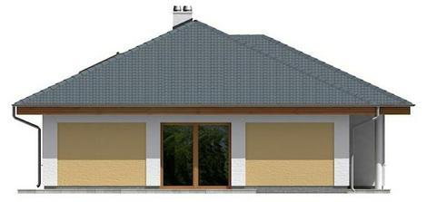 Upravená južná strana domu