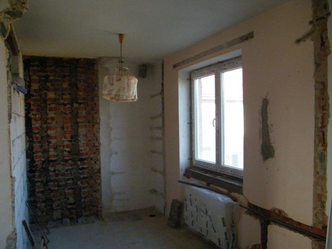 Paleta snov - vyburany komin v kuchyni.. pripravena na realizaciu