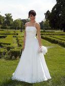 Svadobné šaty + spodnička grátis, 36