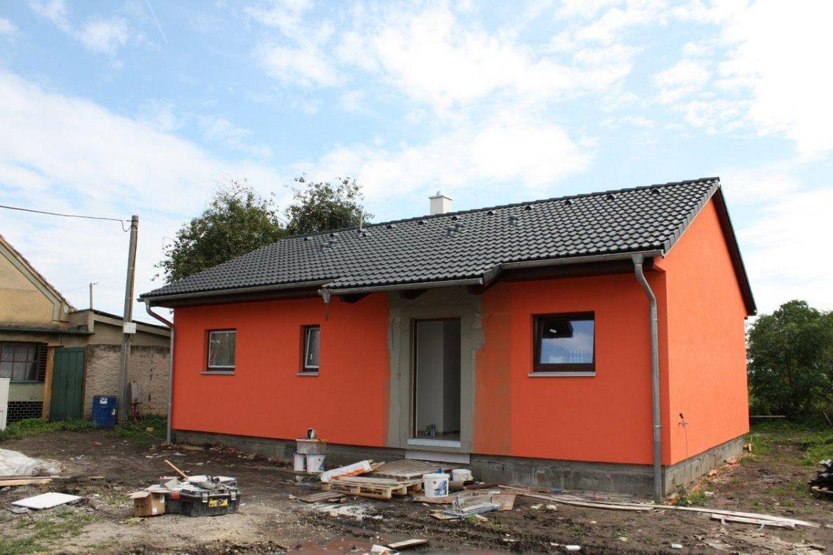 Naše bungalovy Largo - Largo 84 so sedlovou strechou