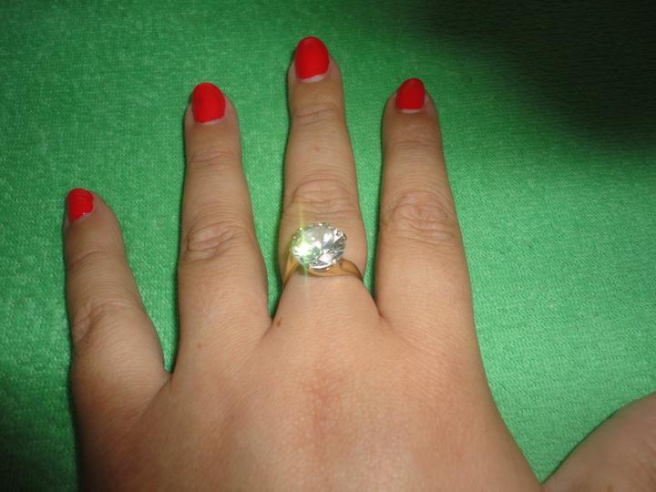 Nas krasny den D - môj krásny druhý snubný prstienok.