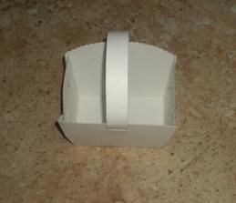 Svatební košíček - už jen ozdobit :-)