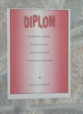 Diplom č. 1
