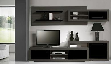 Taky krásná obývací stěna