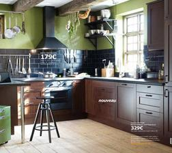Tak a rozhodla jsem, budeme mít toto barevné provedení skříněk - Ikea Faktum Rockhammar, akorát pracovní deska bude světlá a světlé budou i obklady, aby ta kuchyň nebyla zase až tak tmavá :-)