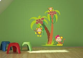 Dětské zvířátka (opičky)