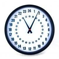 24-hodinové hodiny