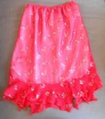Červená sukně, S