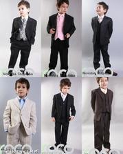 tmavý oblek pro synka, mého druhého ženicha :-), objednáno
