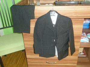 oblek pro mého druhého ženicha