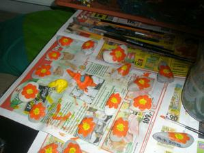 malování kytiček :-)