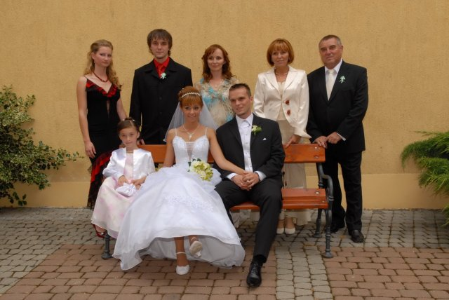 Michaela{{_AND_}}Marcel - rodinka ženícha