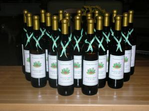 svadobné vínka, ktoré som si sama vyzdobila