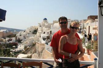 svadobna cesta- Santorini