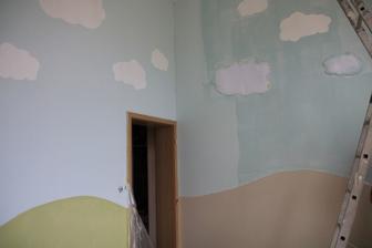 Detska izba ,zaciname malovat