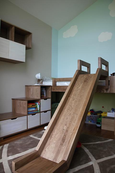 Nas domcek Bungalov 869 - Detská izba od stolára