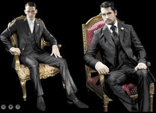 oblek pro ženicha 2 (ten v pravo)